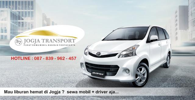 info pusat sewa mobil di yogyakarta yang murah include driver