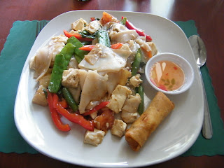 Vegan dining at Sawasdee Thai Cuisine