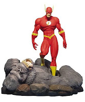 Flash Character Review - Statue Product (The Flash Vs Gorilla Grood)