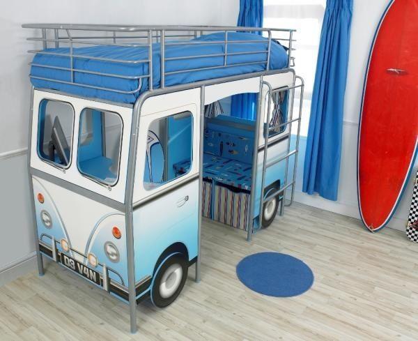 """mobiliario diseño """"trust me I'm a designer"""" coche cama volkswagen combi"""