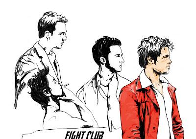 imagini postere din filmu Fight Club