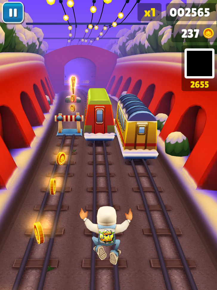 Subway Surfers App iTunes Google Play App By Kiloo - FreeApps.ws