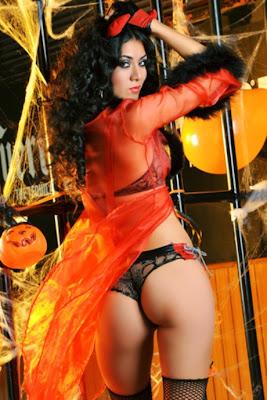 Hania Garcia Hania Garcia, exclusiva modelo para deleitarse en Halloween!