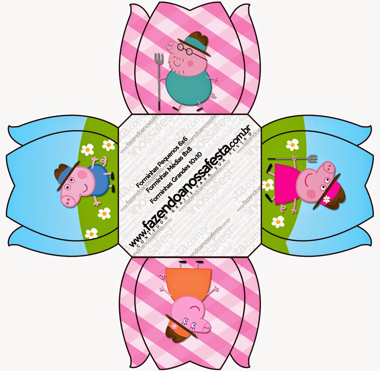 peppa pig at the farm free printable boxes is it for parties