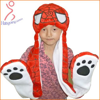 spiderman hats with paws