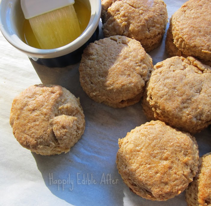 Happily Edible After: Whole Grain Biscuits with Molasses