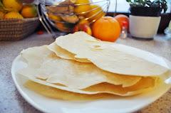 Tortille - placki pszenne