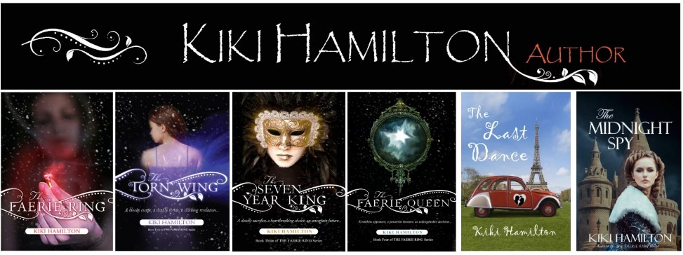 Kiki Hamilton - Author