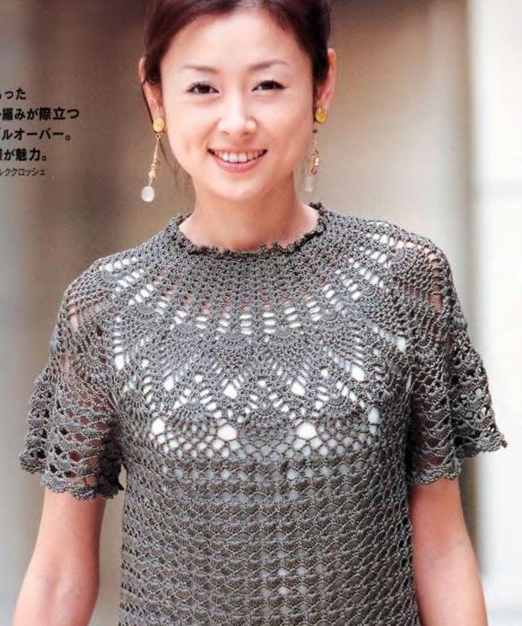 Mi rincon de crochet blusas - Imagui