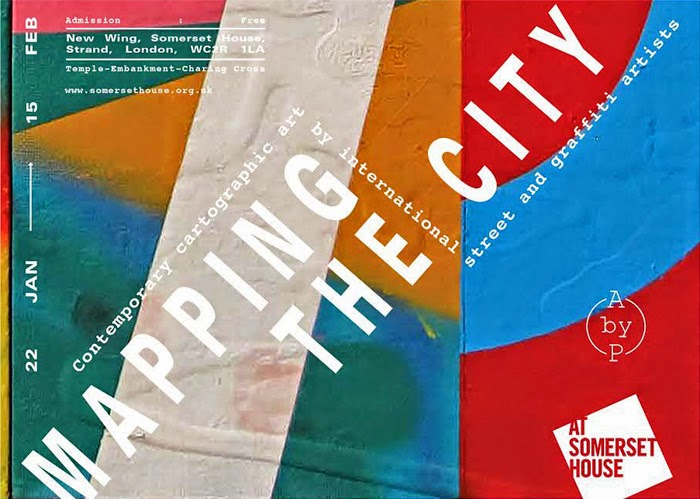 Mapping the City - Somerset House - Flyer