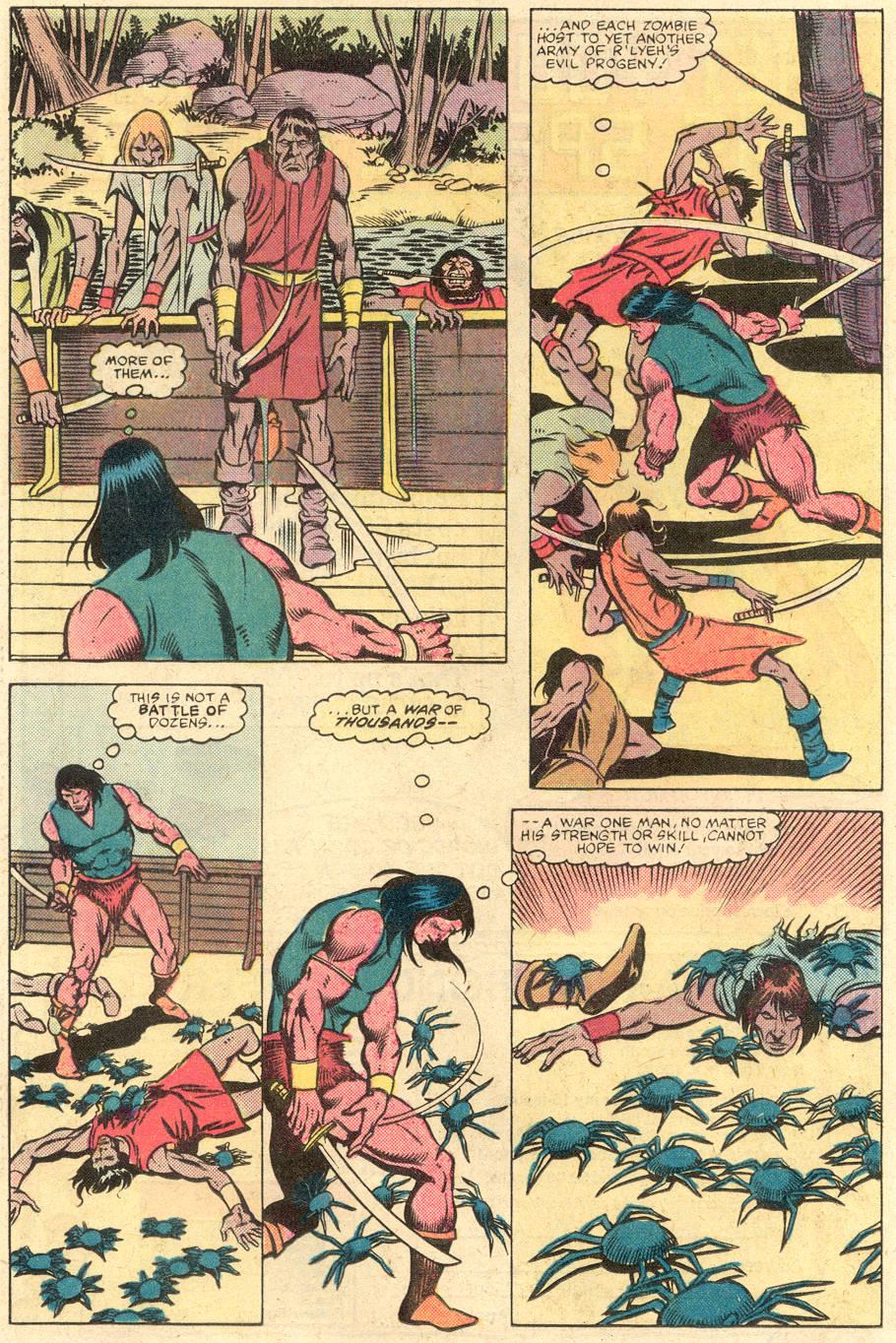 Conan the Barbarian (1970) Issue #141 #153 - English 17