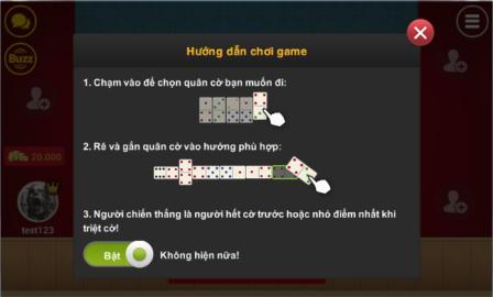 iWinApk hướng dẫn cách chơi game cờ Domino