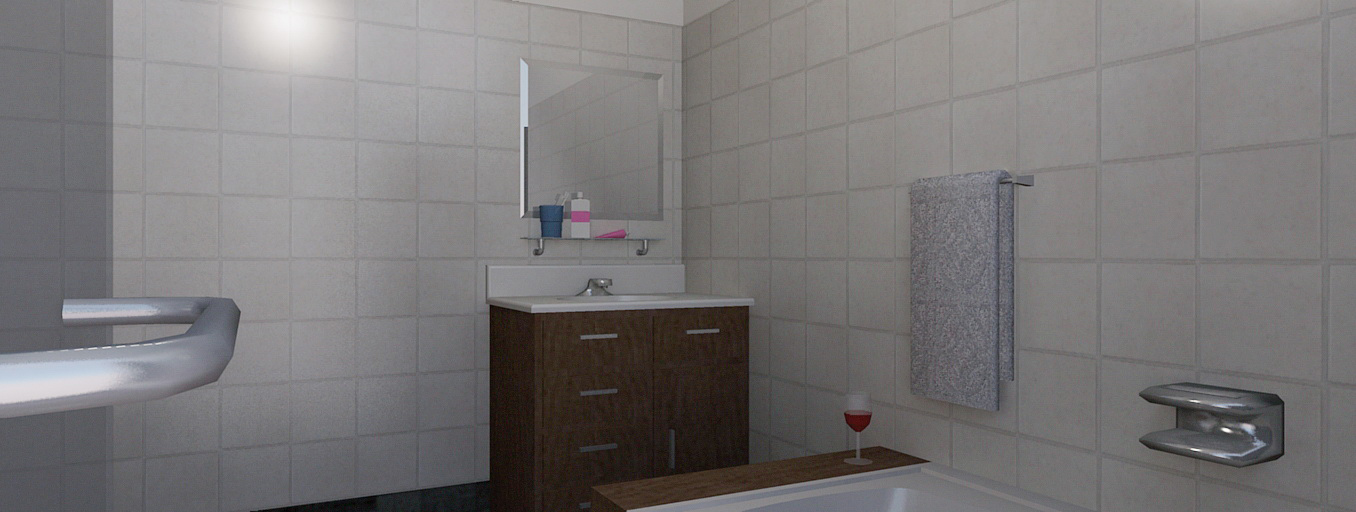 desain kamar mandi sederhana rumah minimalis 2014
