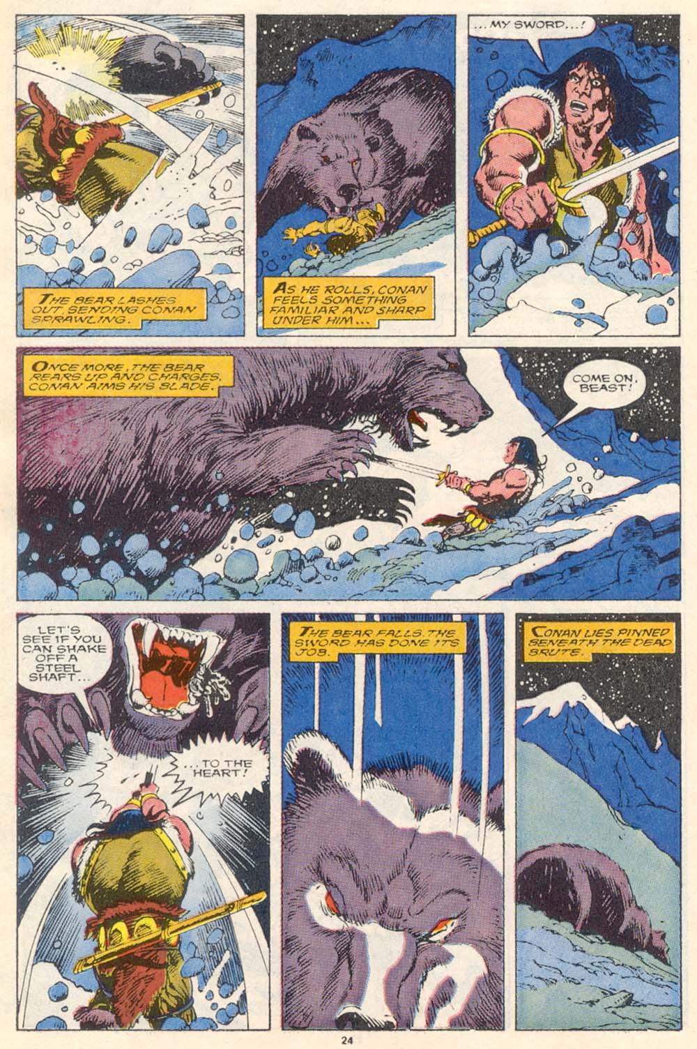 Conan the Barbarian (1970) Issue #220 #232 - English 20