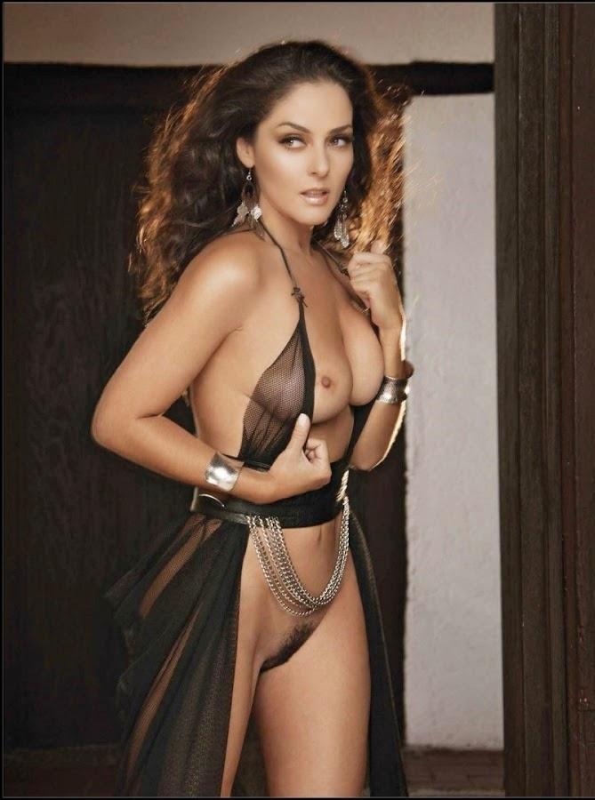 andrea Mexican garcia nude playboy