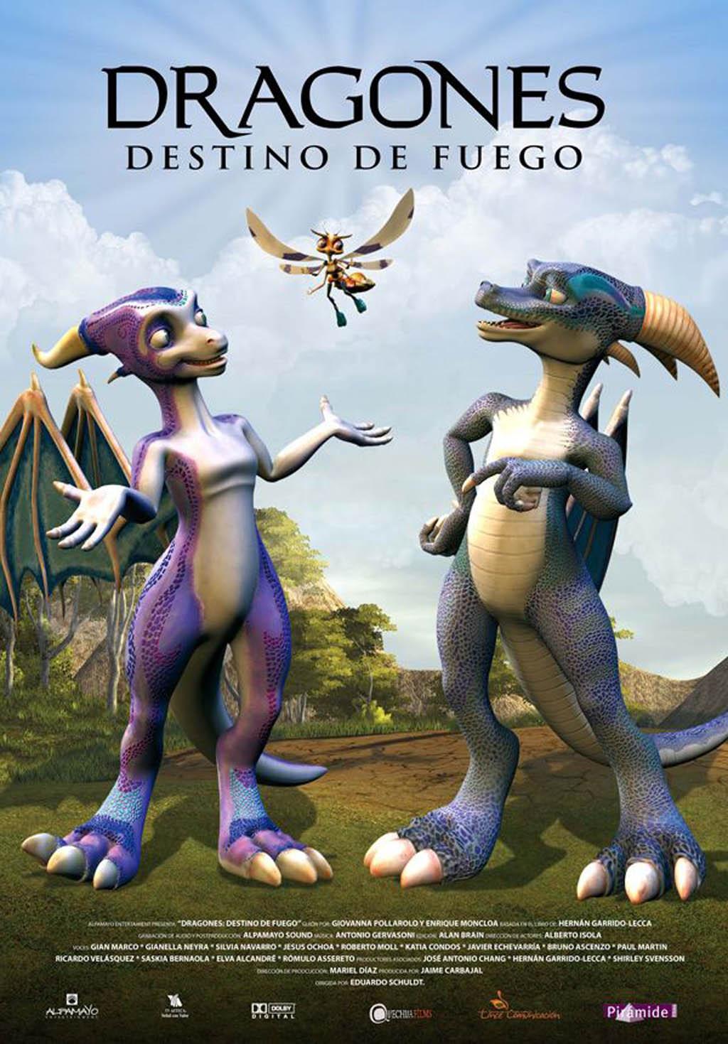 dragones destino de fuego animatoons