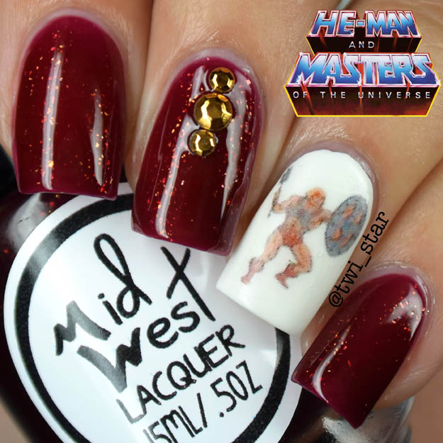 MidWest Lacquer For The Love of Grayskull He-Man I Have The Power