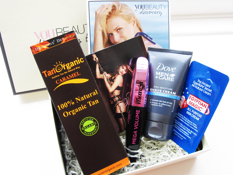 A picture of You Beauty Discovery Box July 2014