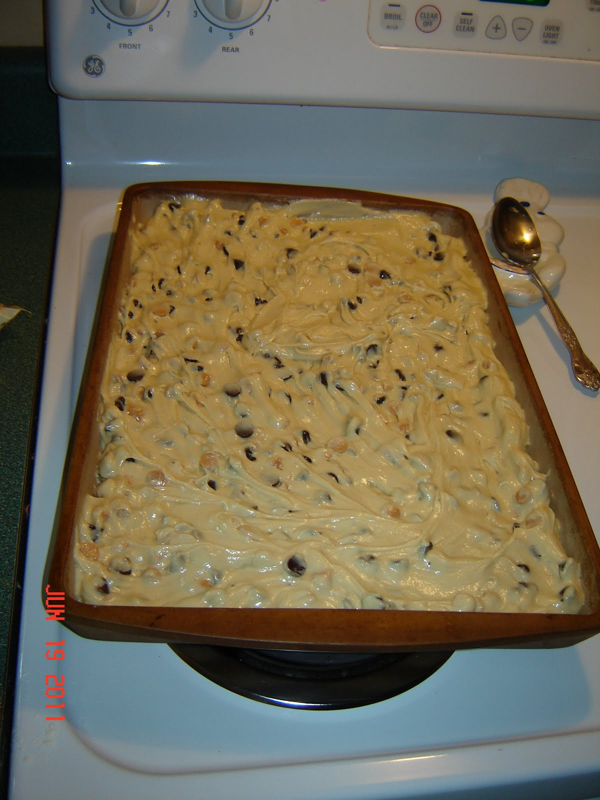 Amy's Life: Chocolate Chip & Butterscotch Cookie Bar