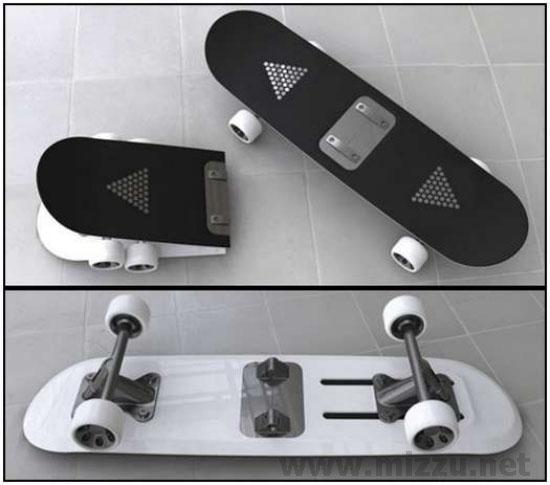 Car Going Under 07: 10 Desain Papan Skateboard Yang Keren