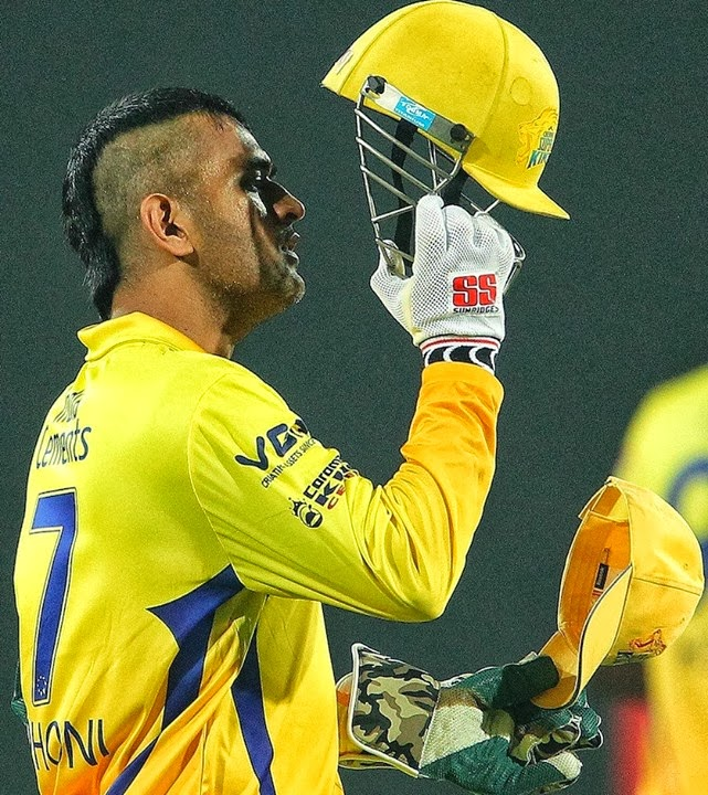 Ms Dhoni Latest Hair Styles Pictures 2013 | All Cricket Stars