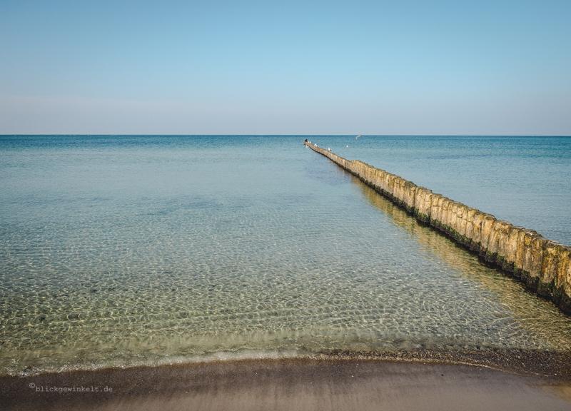 glasklares Wasser der Ostsee