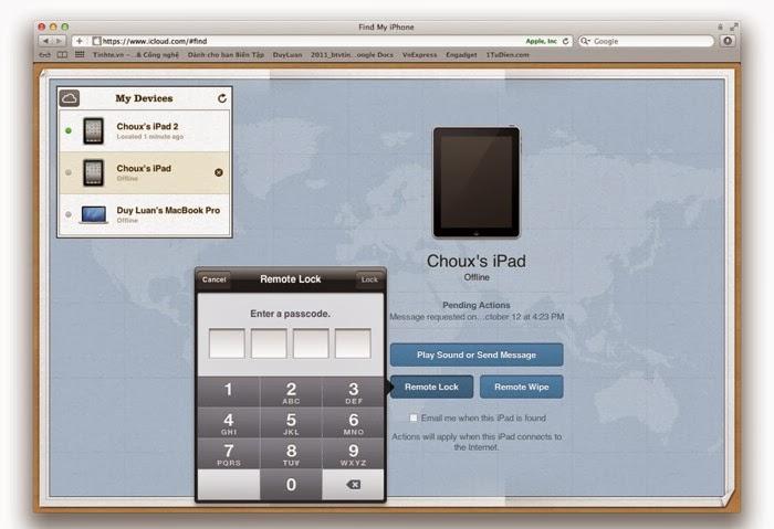 Hướng dẫn sử dụng iCloud trên iOS