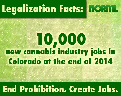 Legalization = Job Creation.