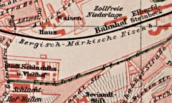 Bahnhof Elberfeld-Steinbeck am städtischen Schlachthaus