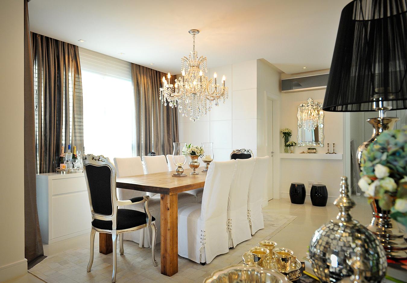 Luminarias Modernas Para Sala De Jantar Dicas De Projetos De  -> Lustres Para Sala De Teto Alto