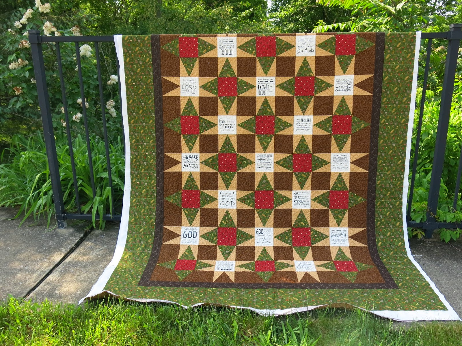Miss Andrea Quilts Comfort Quilt For A Pastor