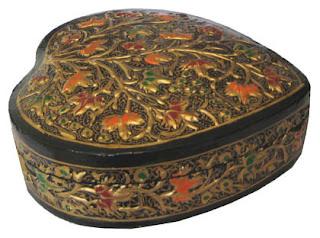Kashmiri Paper Mache Gift Box