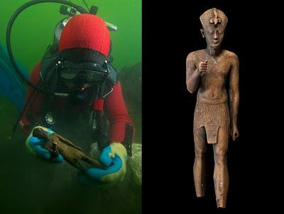 Τα αριστουργήματα μιας αρχαίας πόλης βυθισμένης στο Νείλο κάνουν το γύρο της Ευρώπης