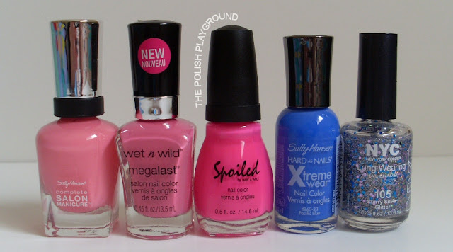 Sally Hansen, Wet n' Wild, Sinful by Wet n' Wild, New York Color