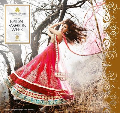 Hot Jacqueline Fernandez on India Bridal Fashion Week ad !