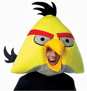 Máscara Angry Birds Pájaro Amarillo