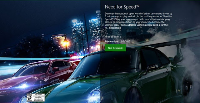 Need For Speed Reboot Release Date 3rd November, 2015