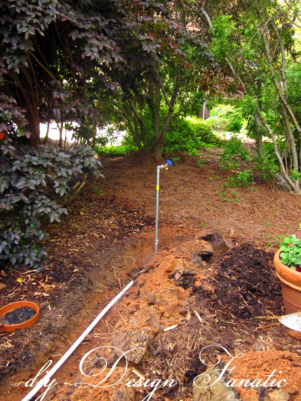 diy Design Fanatic Install A Drip Irrigation System To