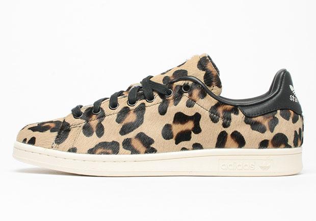 leopard print trainers adidas stan smith
