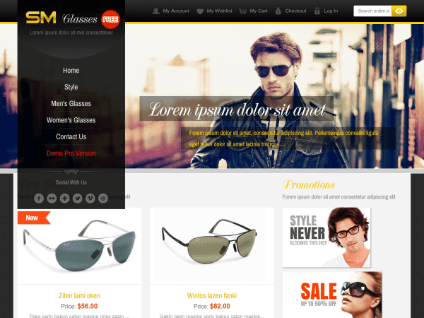 E-commerce Magento Themes 201