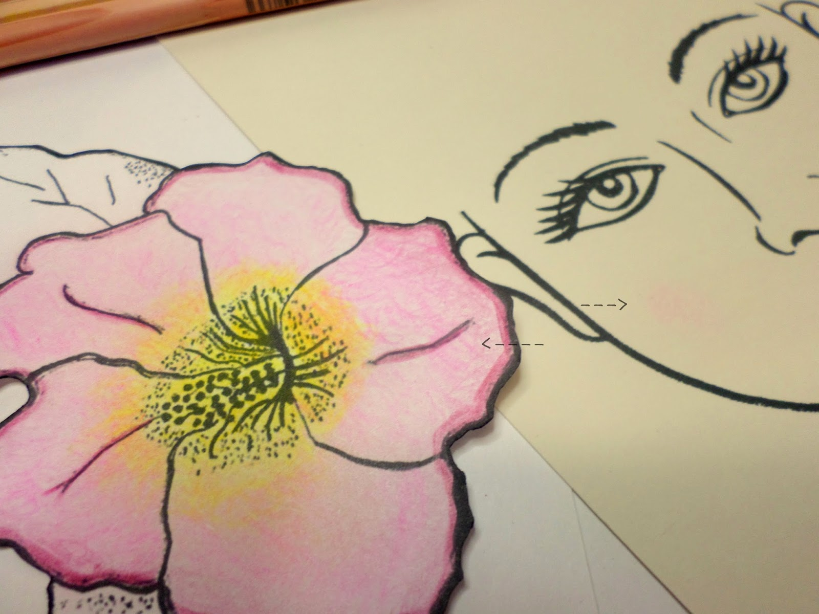 Flower Child Line Drawing : How to draw sunflowers