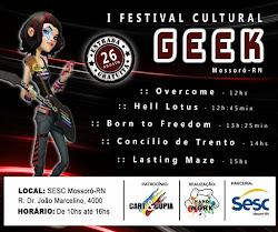 1º FESTIVAL CULTURAL GEEK