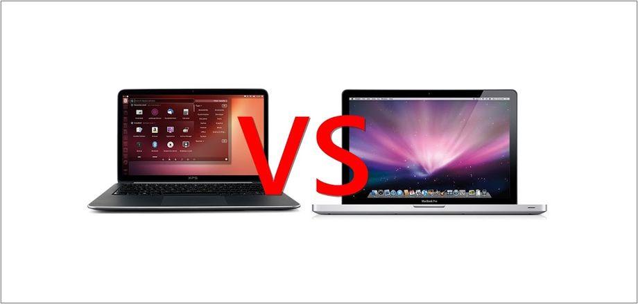 Ubuntu Linux VS Apple Mac OS X
