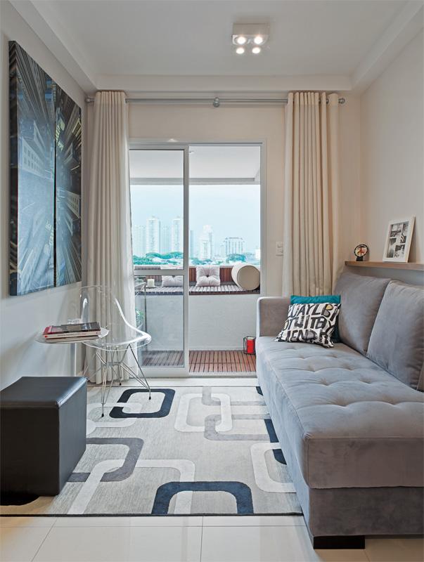 decoracao de interiores sala apartamento: de decoração descomplicada e bem viver: APARTAMENTO DECORADO 60M2