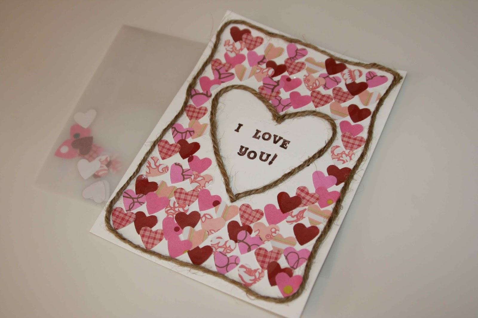 Handmade valentine cards valentine jinni handmade valentine cards kristyandbryce Image collections