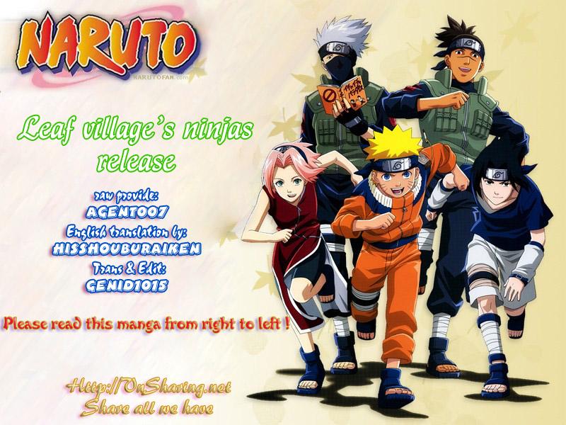 Naruto chap 432 Trang 1 - Mangak.info