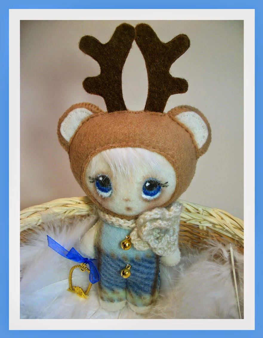 handmade мишка игрушка олененок
