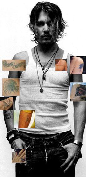 Tatuaje Calavera Johnny Depp poisonous raspberry fields~: johnny depp