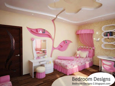 modern kids bedroom design ideas it has a large rose on its ceiling