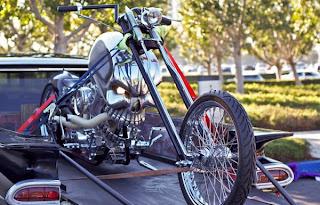 Skull Motorcycle